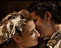 Свадебные прически с цветами из бисера