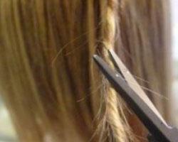 Стрижка горячими ножницами – это шанс сохранения природной красоты волос