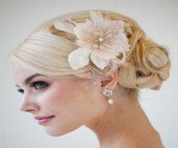 Делаем прическу на свадьбу для волос средней длины