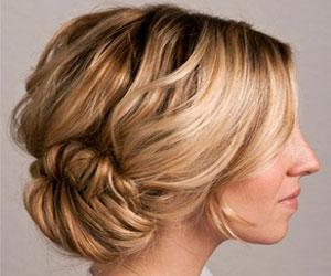 Два варианта объемных причесок из кос