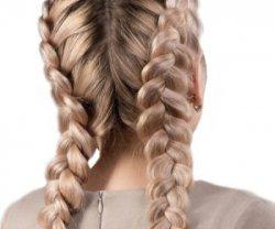 Французская обратная коса
