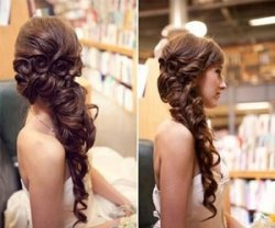Свадебная прическа своими руками на длинные волосы