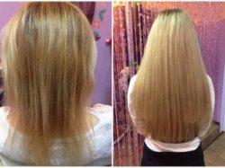 Как использовать корректор от выпадения и наращивание волос
